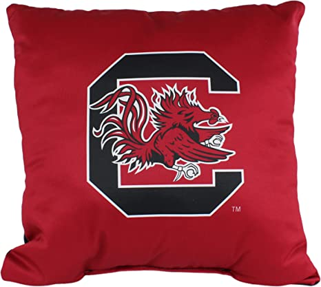 Amazon Com College Covers South Carolina Gamecocks 16 X 16 Decorative Pillow Home Kitchen