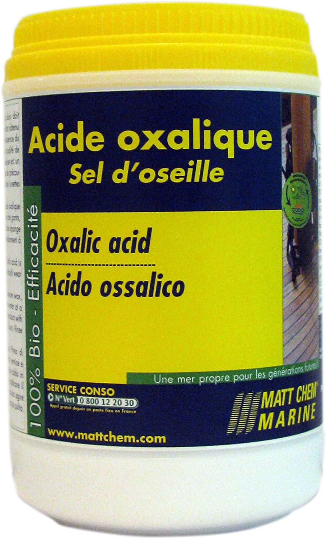 Matt Chem 928m ácido oxálico