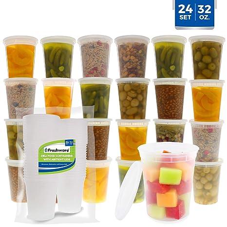 Amazon.com: Freshware - Contenedores de almacenamiento de ...