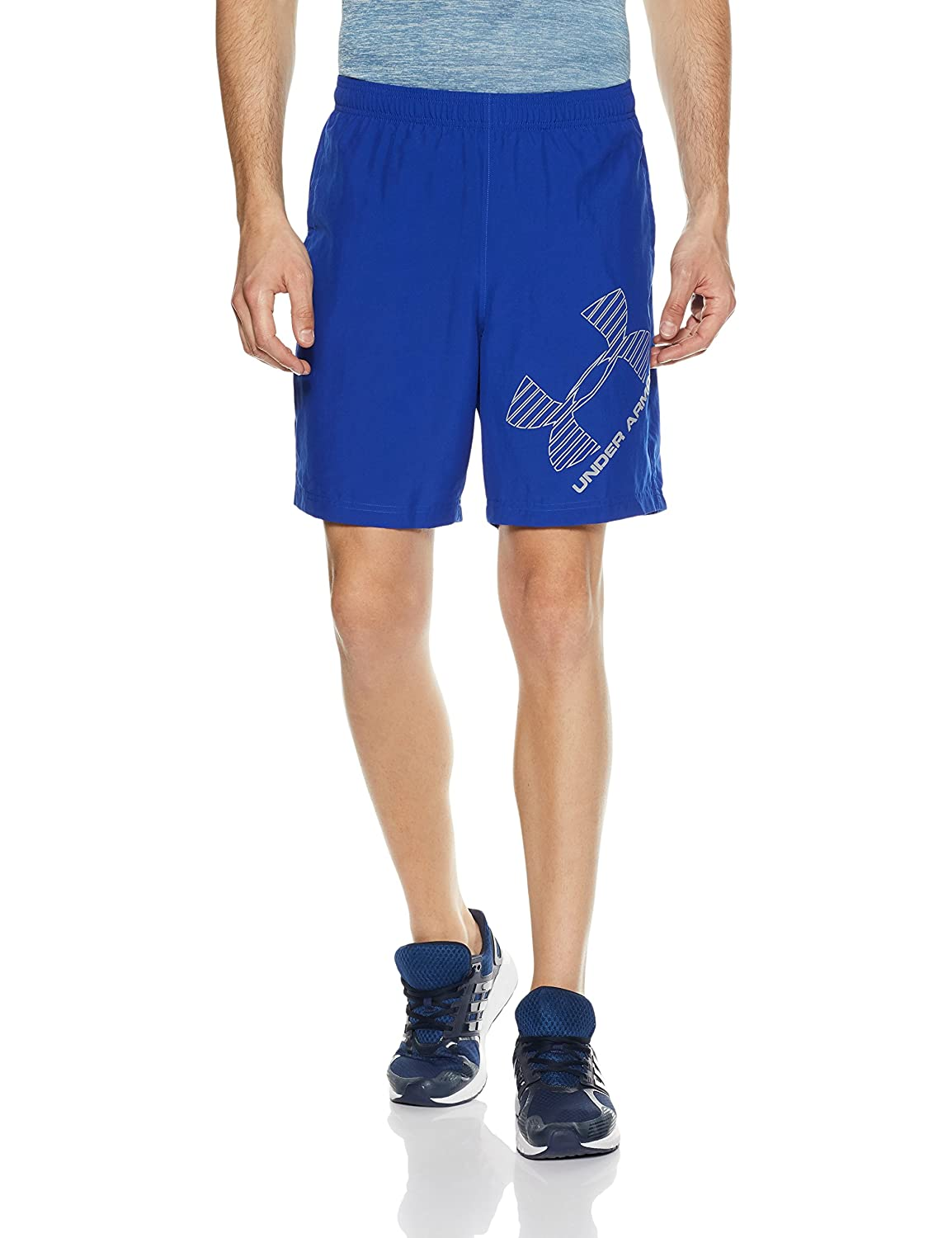 55dbc1c10a01 Under Armour Men s UA 8 Woven Graphic Fitness Pants   Shorts