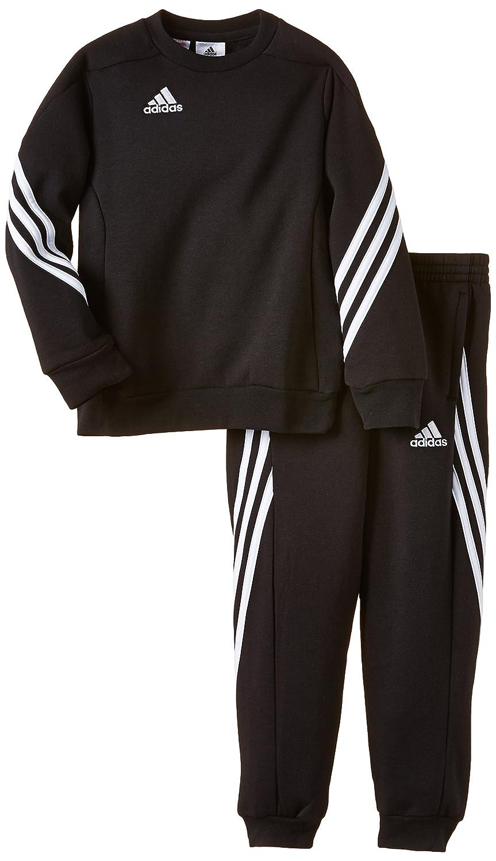 98aa613ba48 adidas Sereno 14 Kids Tracksuit black Nero (Black/Wht) Size:164 cm:  Amazon.co.uk: Sports & Outdoors