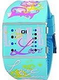 01TheOne Women's SLSL136B3 Slim Square Classic LED Watch