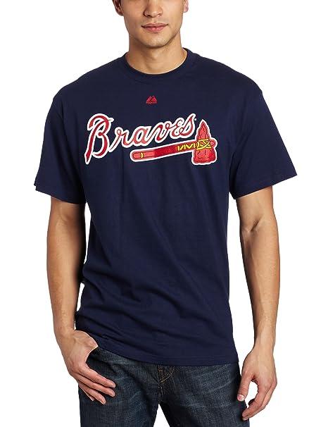 new concept e4d11 716b7 Amazon.com : Chipper Jones Atlanta Braves Name and Number T ...