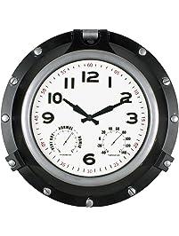 Amazon Com Outdoor Clocks Patio Lawn Amp Garden