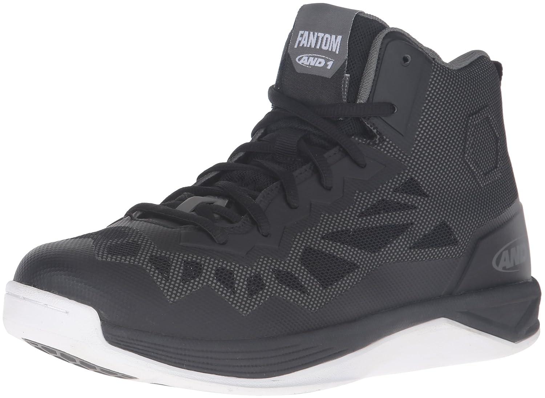 [アンドワン] AND1 バスケットシューズFANTOM 2 B01AHRNSLS 28.0 cm 2E Black/Gunmetal-White