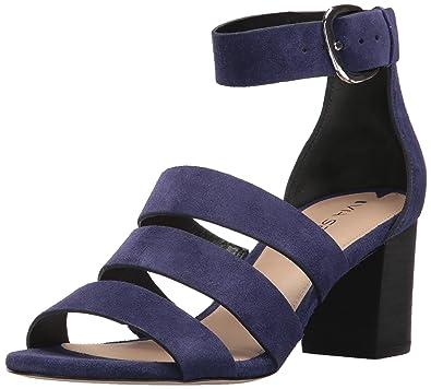 27ae6da232c Via Spiga Women's Carys Block Heeled Sandal