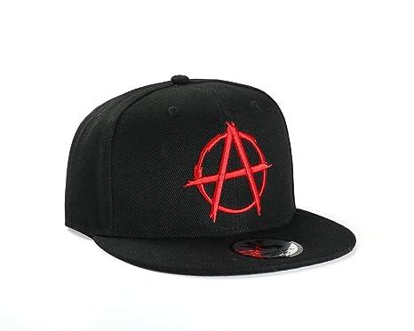 c36761d1356 True Heads Anarchy Black Snapback Baseball Cap  Amazon.co.uk  Clothing
