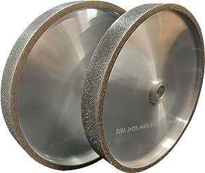 VMTW 8X1 inch CBN Grinding Wheel set 80 Grit & 180 Grit High Speed Steel Tools