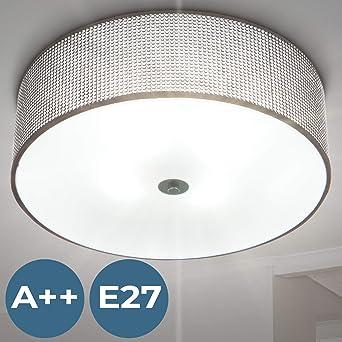 Deckenleuchte Eek A O 40 4 Flammig Mit Strasssteinen Modern Deckenlampe Luster Lampe Fur Schlafzimmer Wohnzimmer Flur Treppenhaus
