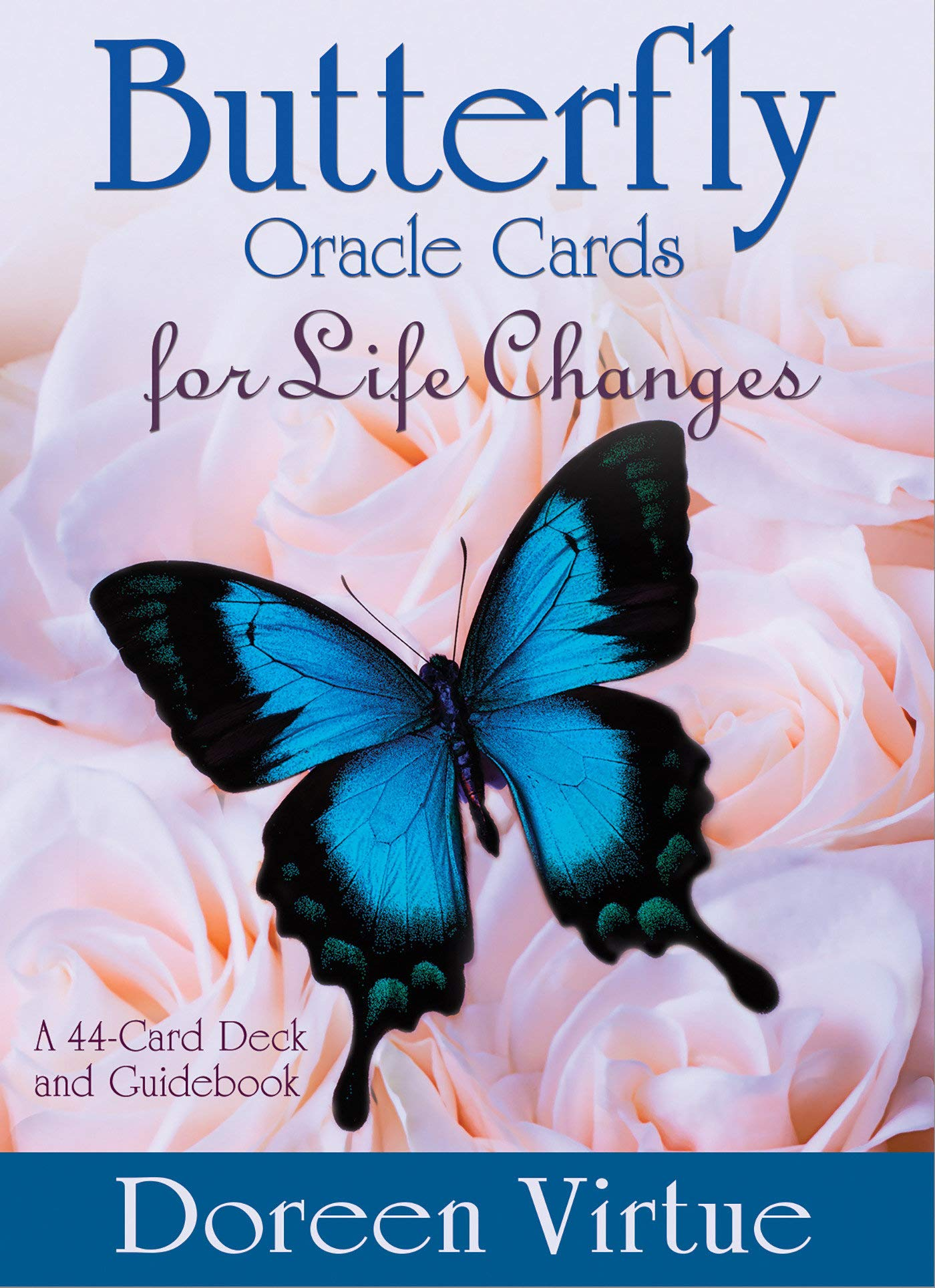 Butterfly Oracle Cards For Life Changes  A 44 Card Deck And Guidebook