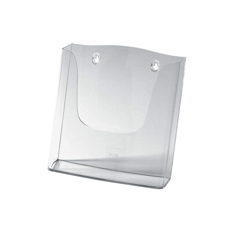 transparente A5, 1 compartimento Sigel LH116 Expositor de pared