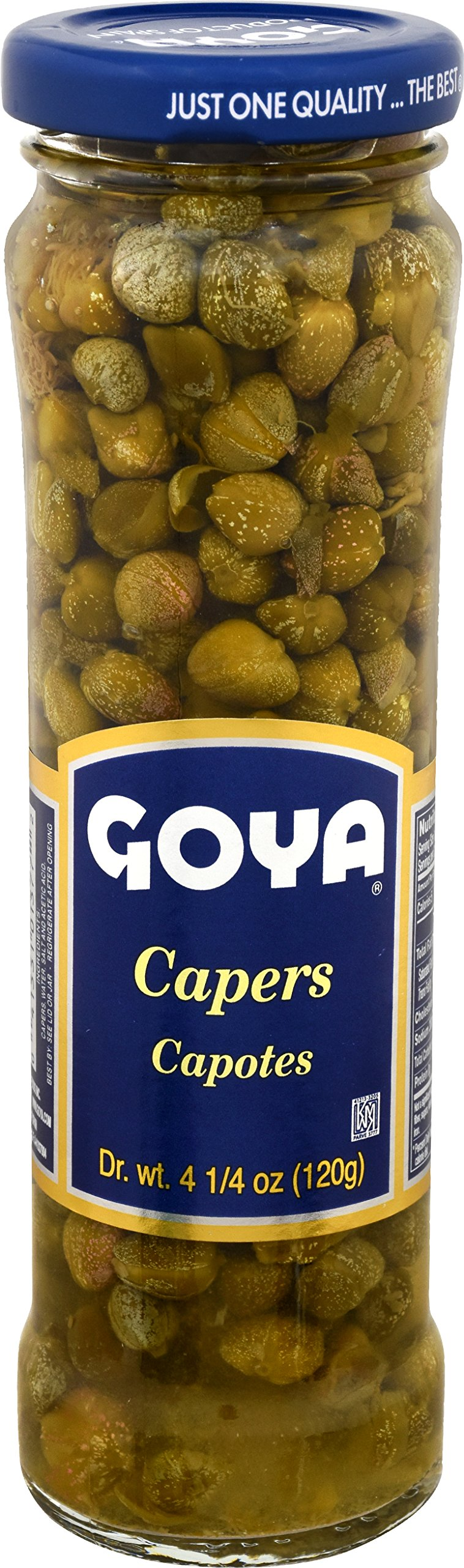 Goya Foods Spanish Capers, 4.25 Ounce (pack of 12)