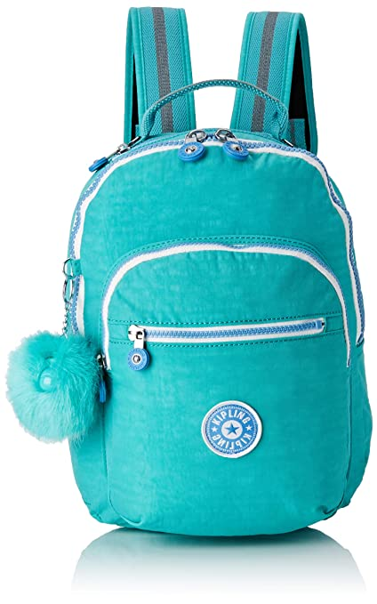 f2b6aff0ead Kipling Seoul GO S Children's Backpack, 35 cm, 14 liters, Blue (Deep ...