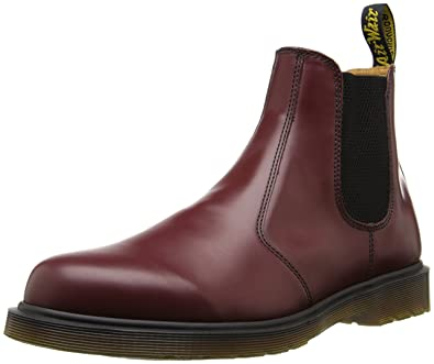 46fbe4e9541 Dr. Martens 2976 Chelsea Boot,Cherry Red Smooth,3 UK (Women's 5