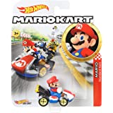 Hot Wheels Mario Kart, Mario, Vehículos, Autos de Juguete, Edad: 3+, GBG26