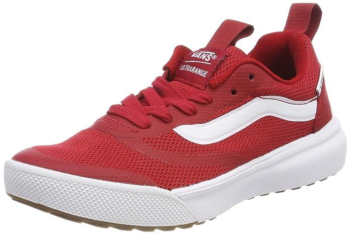 Vans Ultrarange Rapidweld Schuhe Erwachsene Rot (Chili Pepper) mit Schwarzem Streifen