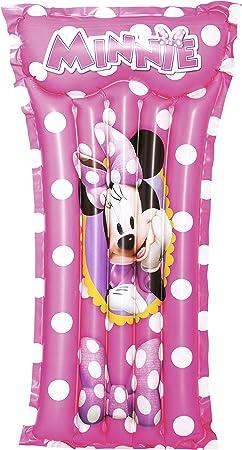 Bestway 91065 - Colchoneta Hinchable Minnie Mouse 119x61 cm