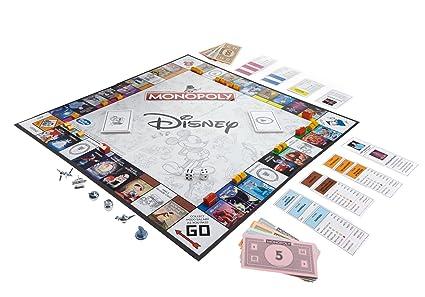 Amazon.com: Disney Animation Edition Monopoly: Toys & Games