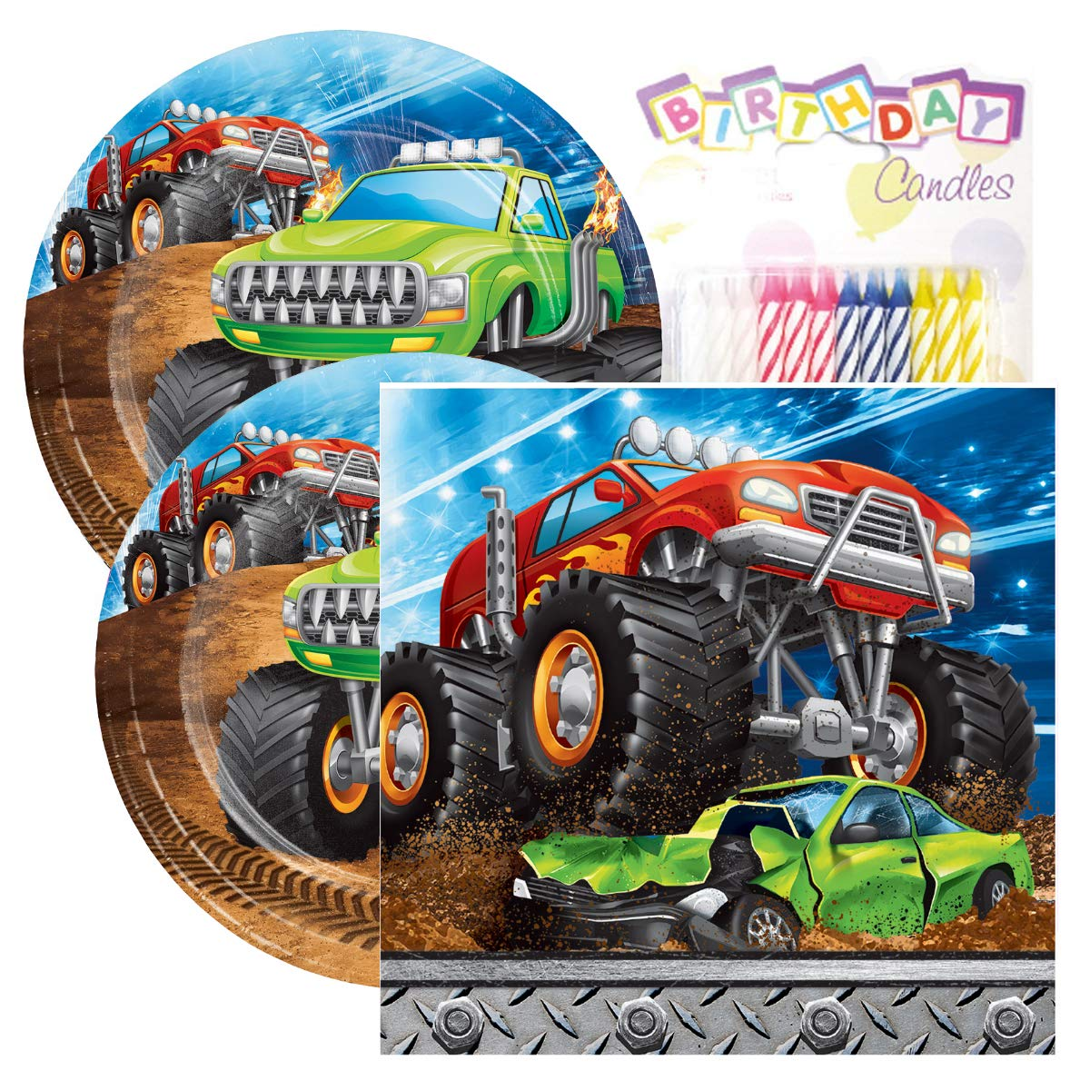 Amazon.com: Monster Truck Rally - Pack de fiesta de ...