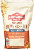 Arrowhead Mills Organic Gluten Free Brown Rice Flour, 24 Ounce (Pack of 6)
