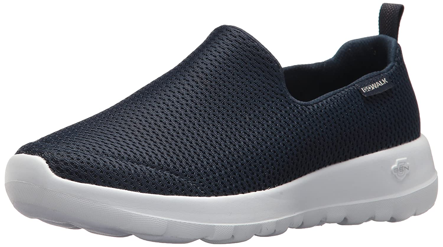 Skechers Women's Go Joy Walking Shoe B071JX2VGJ 8.5 W US|Navy/White