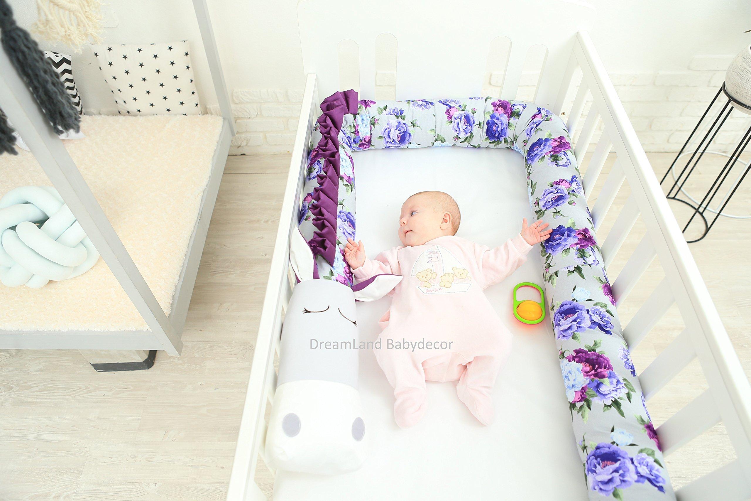 UNICORN Baby Pillow, Handmade Pillow, Bolster Pillow
