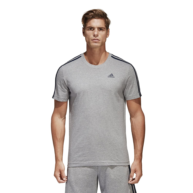 a81965282a adidas Sport Performance Men's Essentials 3-Stripe T-Shirt at Amazon Men's  Clothing store: