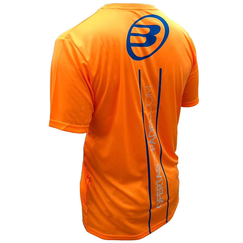Camiseta Bullpadel Naranja ODP (XL): Amazon.es: Deportes y ...