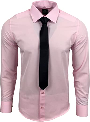 Rusty Neal R de 55 de KR Hombre Business Camisa con Corbata ...
