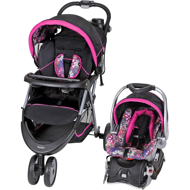 Baby Trend EZ Ride 5 Travel System, Floral Garden