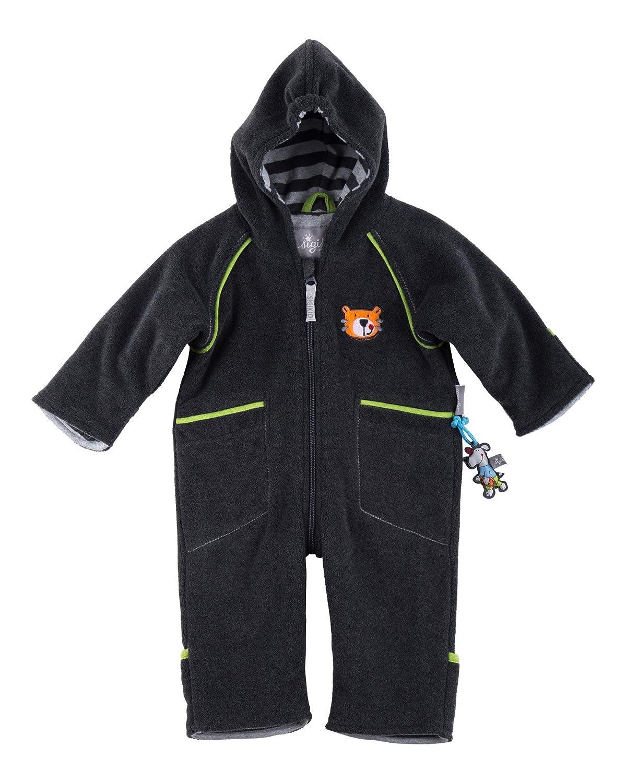 99e7de8fb090 Sigikid Baby Boys  Fleece Overall Footies  Amazon.co.uk  Clothing