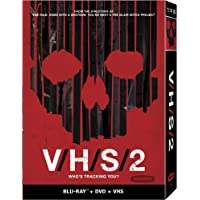 V/H/S/2 [DVD+Blu-ray+VHS Tape] [Importado]
