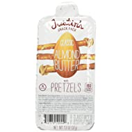 Justin's Classic Almond Butter Snack Pack with Pretzels 1.3oz (Pack of 6)
