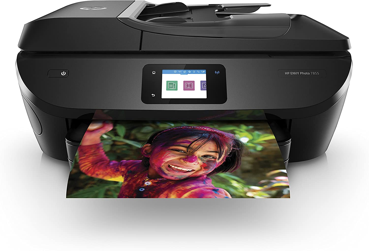 HP ENVY Photo 7855 All in One Photo Printer with Wireless Printing, HP Instant Ink ready, Works with Alexa (K7R96A): Electronics