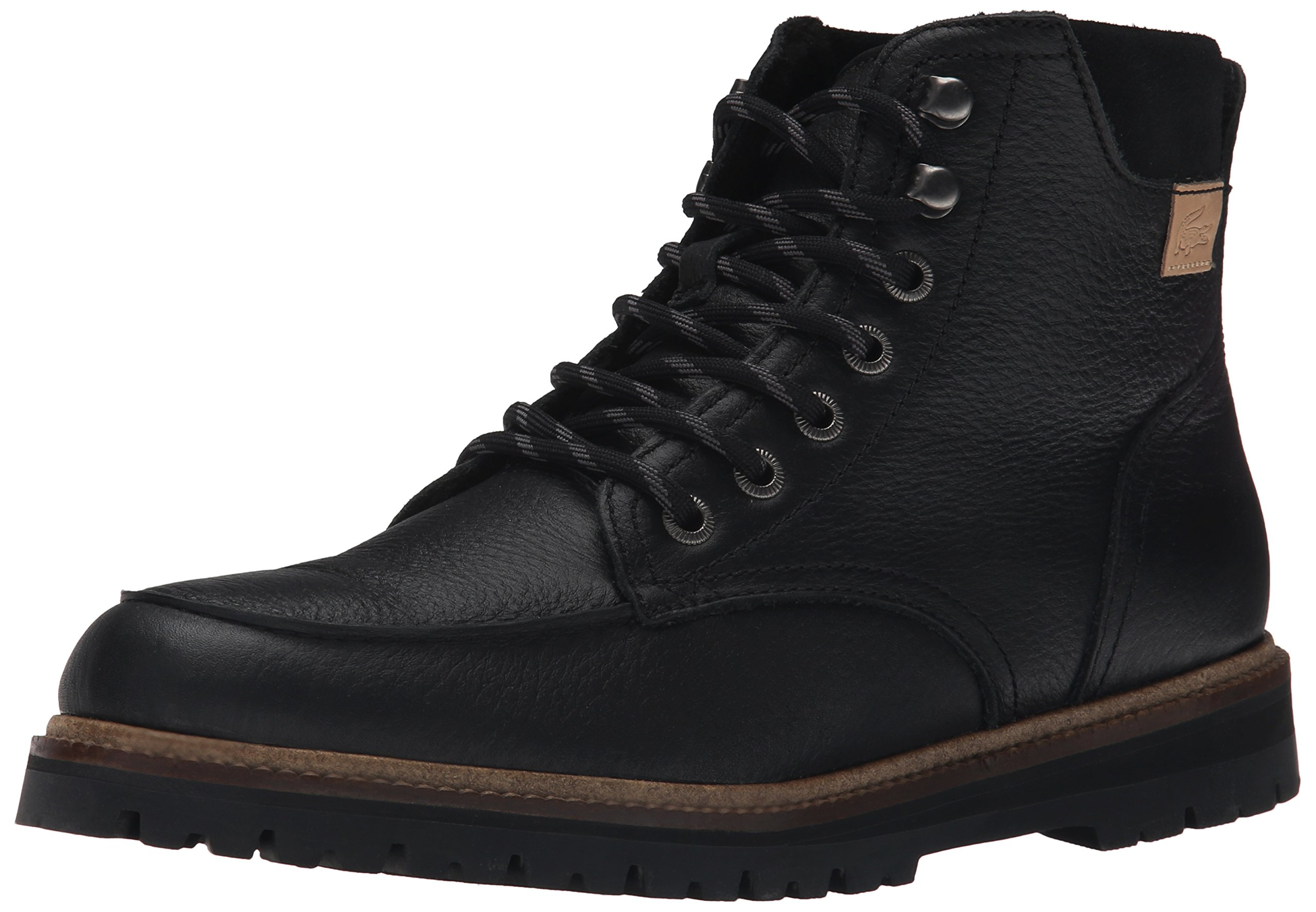 Lacoste Men's Monbard 2 Winter Boot, Black, 13 M US