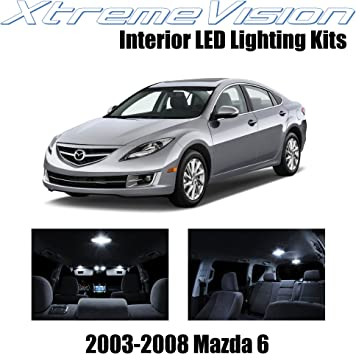 6x White LED Light Interior Bulb Package for Honda Element 2003-2008