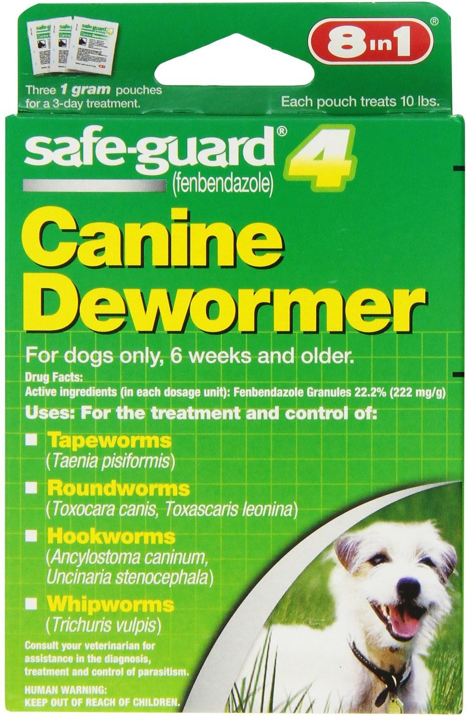 Guard 4 Canine 8in1 Safe Dewormer for Small Dogs, 3 day treatment by Guard 4 Canine (Image #1)