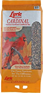 Lyric Cardinal Premium Sunflower and Safflower Wild Bird Mix, 18 lb
