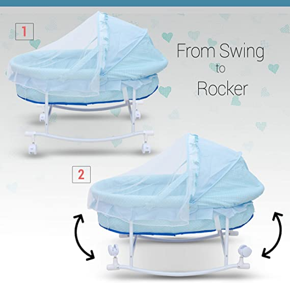 Newborn Baby Cotton Baby Cradle/Baby Sleep Swing Cradle