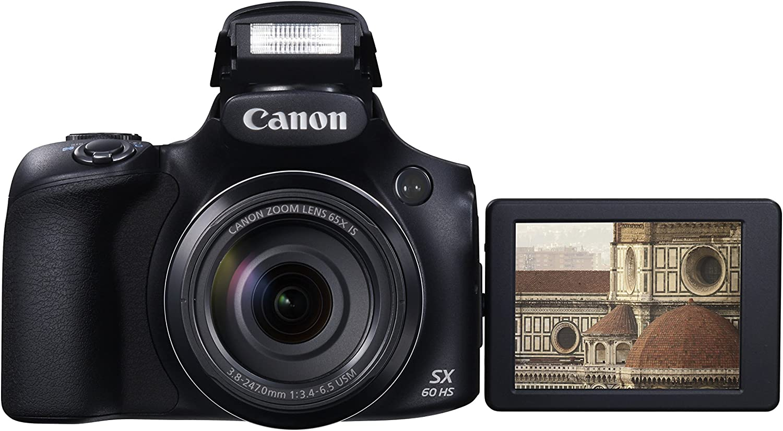 Canon PowerShot SX60 HS - Cámara compacta de 16.8 Mp (pantalla de ...