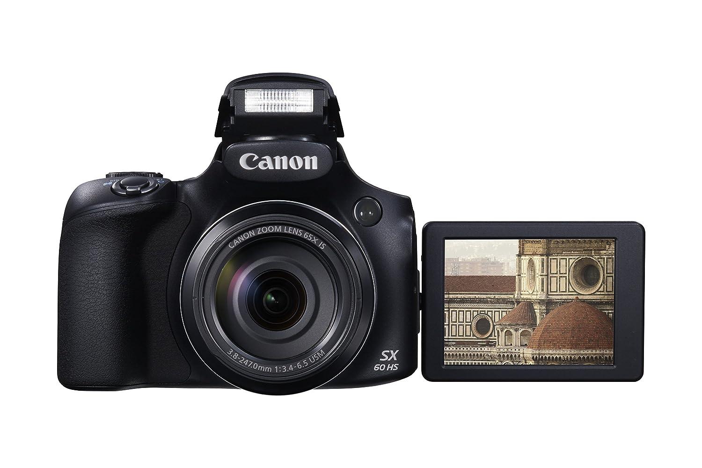 Canon PowerShot SX60 HS Digitalkamera schwarz: Amazon.de: Kamera
