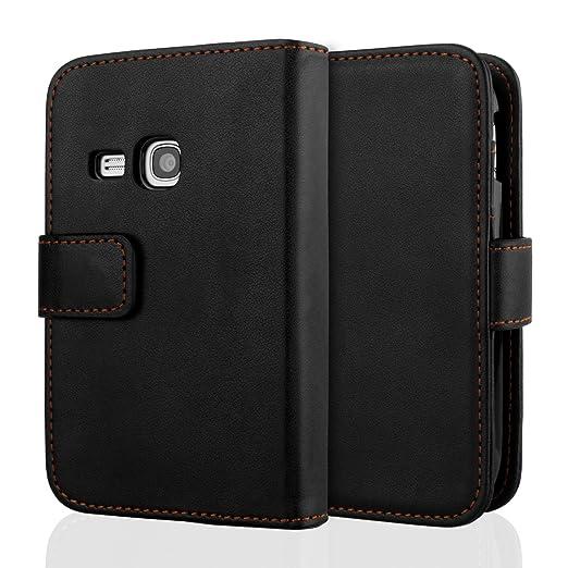 20 opinioni per Yousave Accessories Custodia in PU Tipo Portafoglio per Samsung Galaxy Young,
