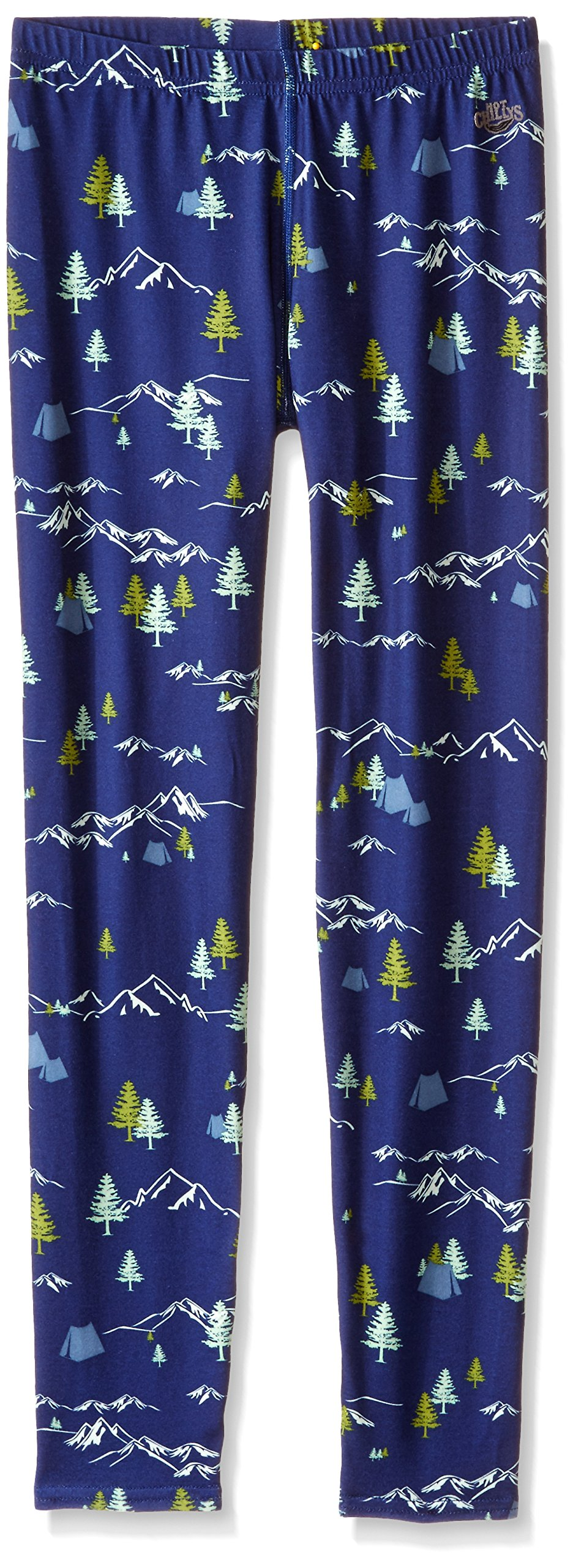 Hot Chillys Youth Original 2 Print Tights (Box), Large, Adventure
