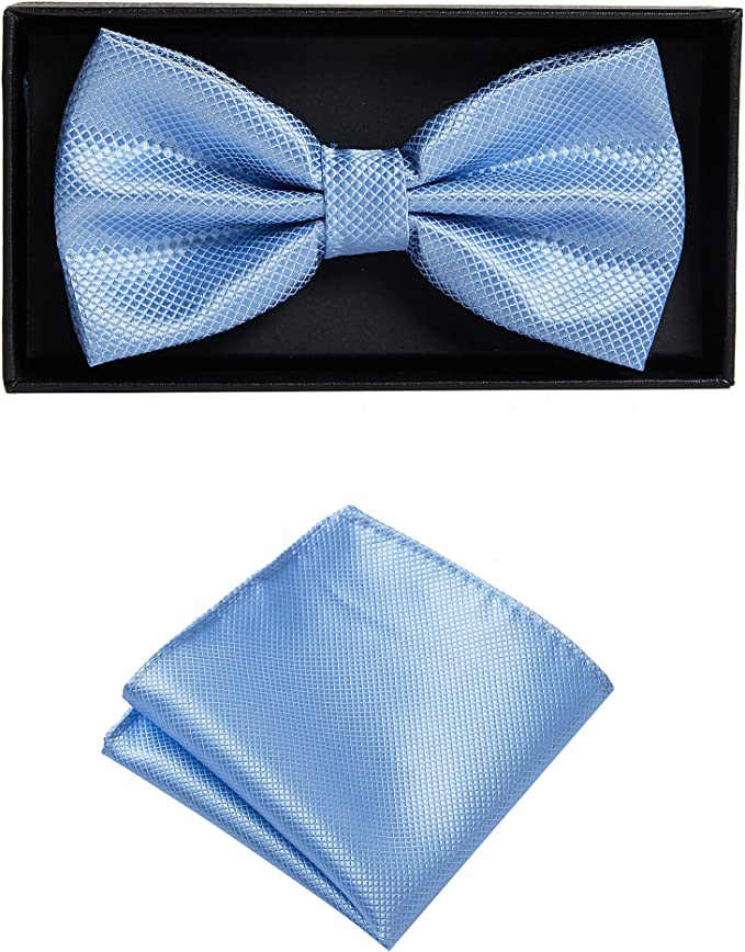set in diversi colori in microfibra papillon Beige fiocco regolabile con fazzoletto coordinato Massi Morino Papillon con fazzoletto in confezione regalo