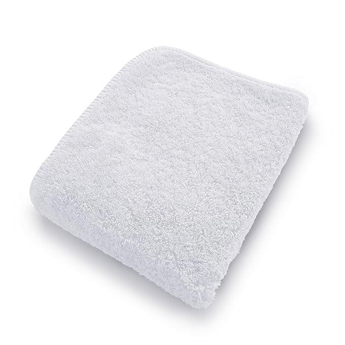 graccioza largo doble loop toalla colección - color blanco - fabricado en Portugal, 700-gsm, 100% algodón egipcio: Amazon.es: Hogar