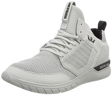 Supra Method, Sneakers Basses Homme, Gris (Black-Cool Grey), 43 EU