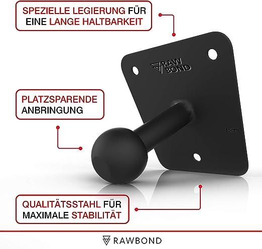 balvi 25215/F/ür Taschent/ücher-Box Einfache Montage Halterung mit Saugn/äpfen