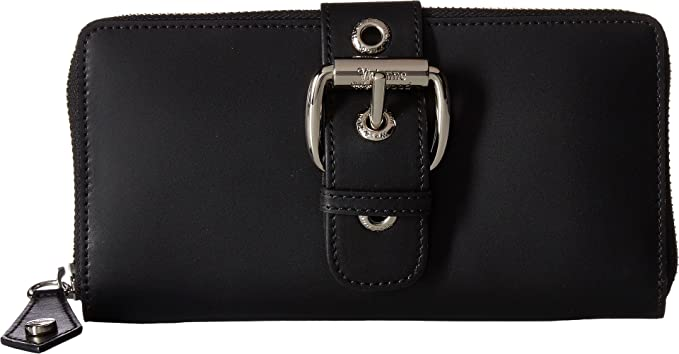 ffad2d8546 Vivienne Westwood Women's Zip Round Wallet Alex Black Wallets ...