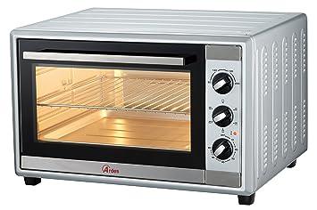 Ardes AR6245S horno tostador 45 L Plata Parrilla 1800 W - Hornos tostadores (45 L, Plata, Giratorio, 90-230 °C, Mecánico, 60 min)