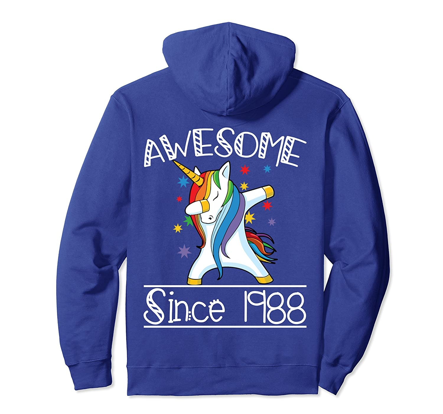 30th Birthday Gifts Vintage 88 Awesome Since 1988 Hoodie-mt